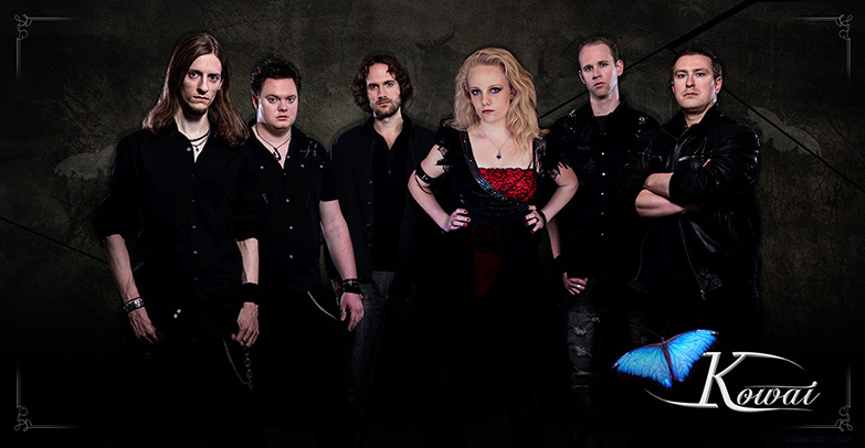KOWAI GOTHIC ROCK METAL BAND from the Netherlands